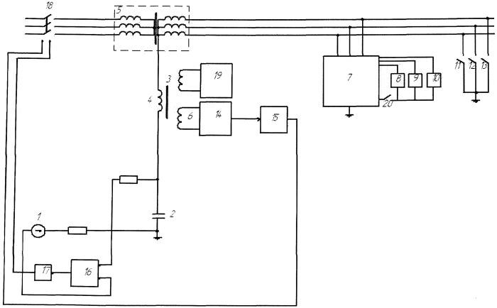 Устройство защиты от токов утечки в шахтных электрических сетях