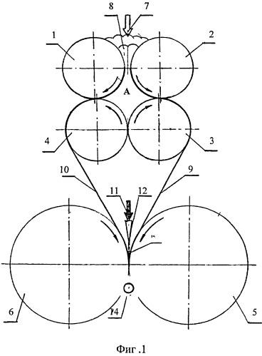 Механизм для формования изделий из теста с начинкой