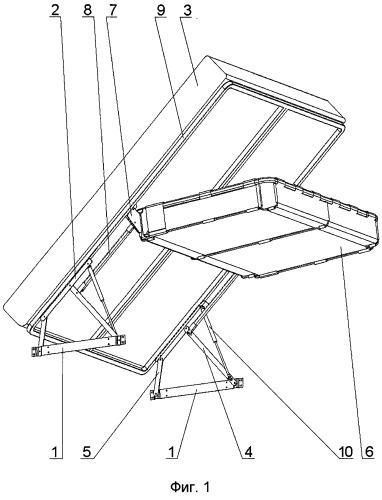 Механизм трансформации предмета мягкой мебели