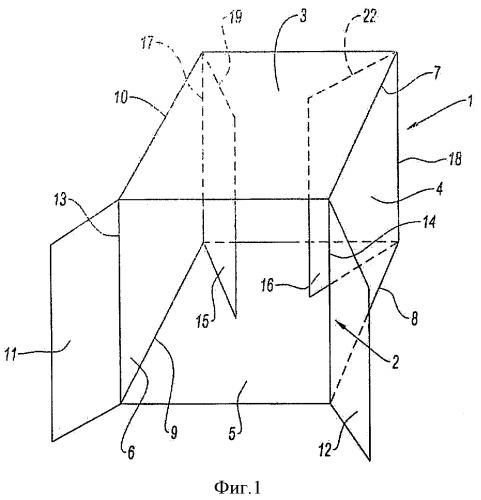 Элементарная несущая конструкция стенда для размещения предмета, содержащая сочлененную многогранную ячейку