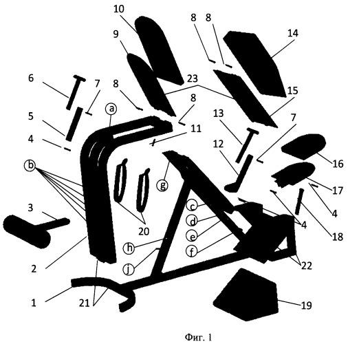 Многофункциональный тренажер letron
