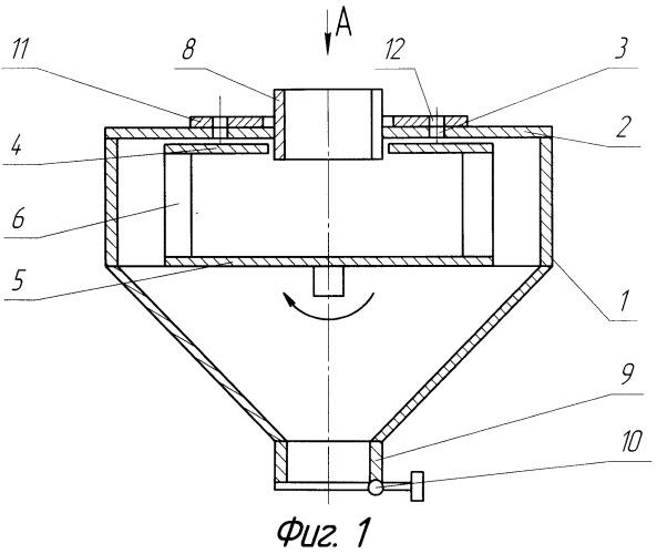 Воздушный центробежно-динамический классификатор