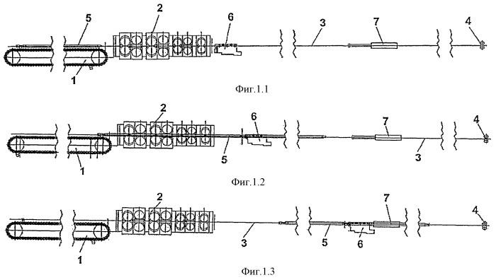 Способ прокатки и продольный многоклетьевой прокатный стан с удержанием оправки для непрерывной прокатки полых заготовок