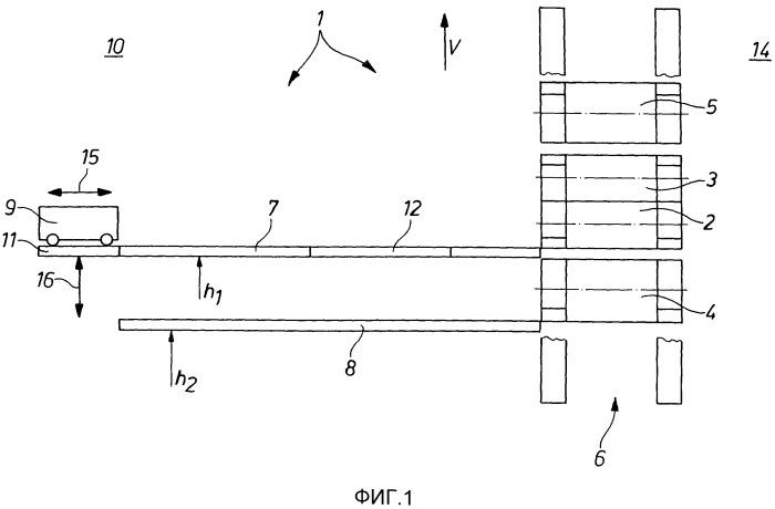 Устройство для манипулирования и/или транспортировки валков прокатной клети