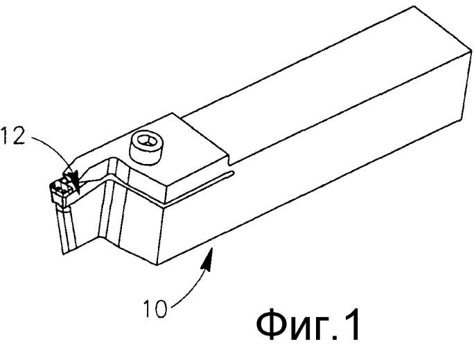 Способ прорезания канавок в сверхпрочных сплавах и режущая пластина для его осуществления