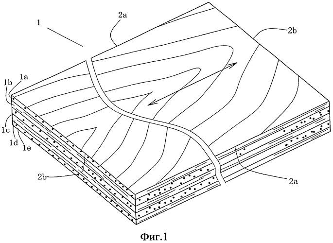 Способ изготовления фанеры с взаимно диагональным расположением волокон шпона