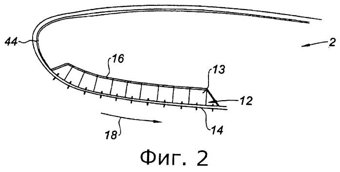 Способ изготовления акустической панели для кромки воздухозаборника гондолы