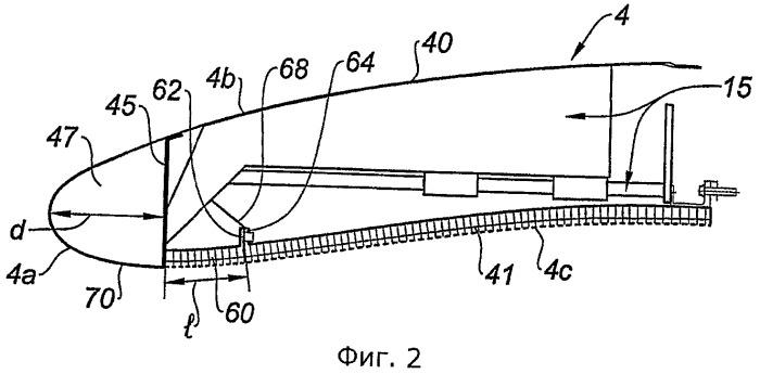 Воздухозаборник для гондолы турбореактивного двигателя