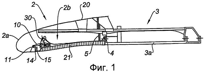 Замковая система для воздухозаборника гондолы турбореактивного двигателя