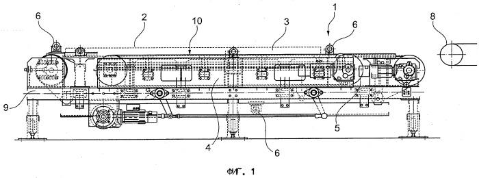 Устройство для передачи заготовок с транспортирующего устройства на транспортировочный элемент