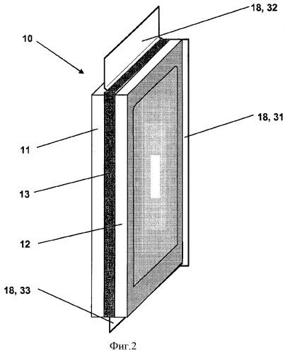 Подъемное устройство с легкими стеклопанелями