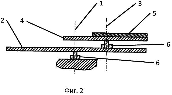 Распылительный узел плоского магнетрона