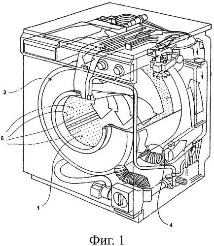 Усовершенствованная машина для стирки и сушки белья