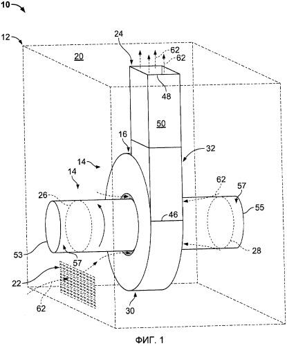 Система вентиляции и способ ее сборки