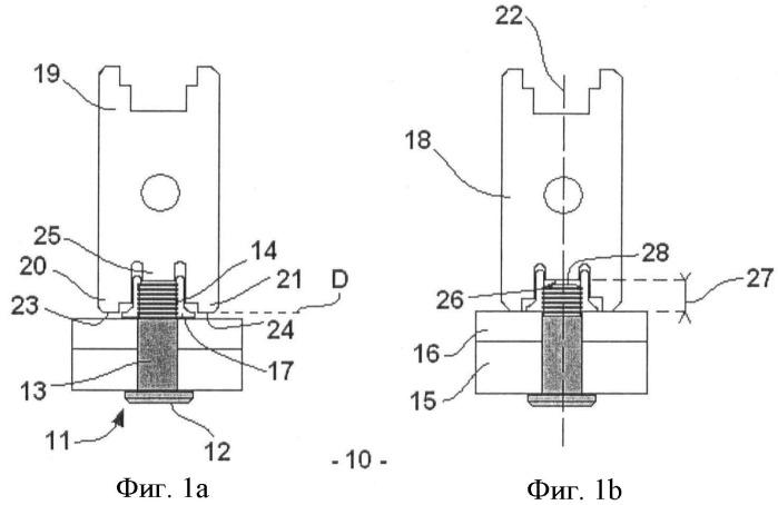 Семейство крепежных элементов, контрольный калибр и способ контроля выбора длины крепежного элемента