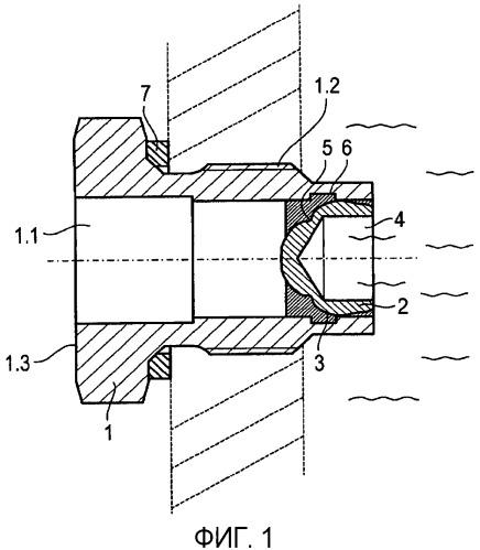 Затвор с функцией тепловой защиты для гидродинамической машины