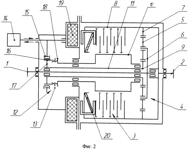 Соединительное устройство для трансмиссии транспортного средства, преимущественно, с комбинированной энергетической установкой