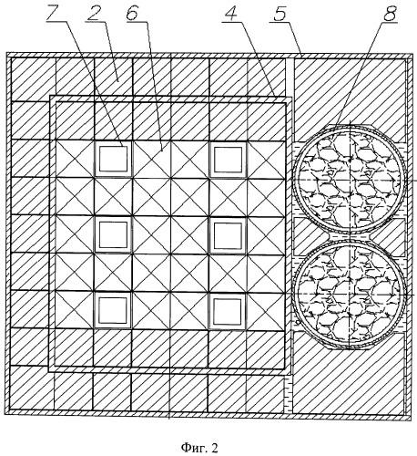 Система охлаждения активной зоны и отражателя ядерного реактора бассейного типа
