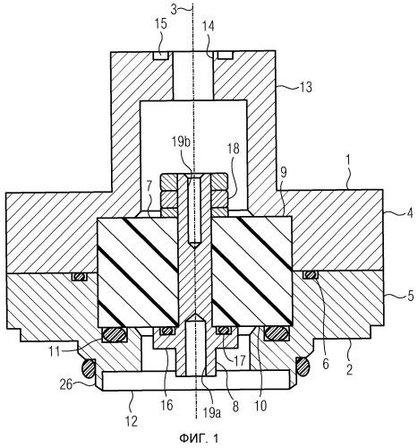 Система с газонепроницаемым измерительным вводом