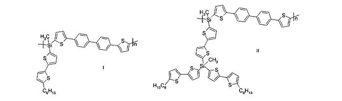 Органические светоизлучающие диоды на основе дендронизованных полиарилсиланов