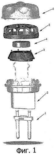 Единица дозирования для замедленного высвобождения средства против насекомых, дозатор и устройство для этого и способ ее изготовления