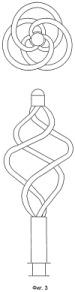 Комбинированный инструмент для захвата и удержания камня в литотрипторе со спиралевидными удерживающими элементами