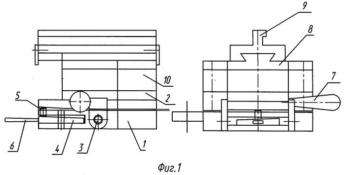 Устройство для штамповки деталей с электроконтактным нагревом заготовок