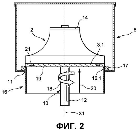 Способ полирования облопаченных дисков для турбомашины и полировальное устройство