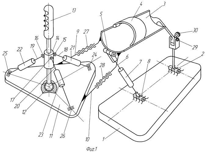 Устройство ручного управления манипулятором-триподом