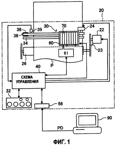 Контейнер для печатающего материала