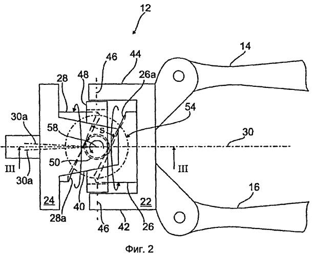 Устройство для регулировки развала и/или схождения колес подвески колеса