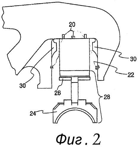 Низкопрофильный навесной узел и низкопрофильная подушка для железнодорожного вагона