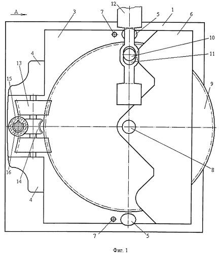 Механизм привода стрелочного перевода