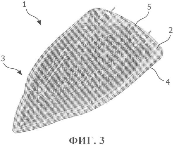 Утюг, содержащий пластину из нержавеющей стали с покрытием, и способ его изготовления