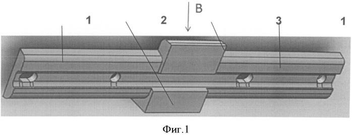Сглаживающая рельсовая стыковая накладка