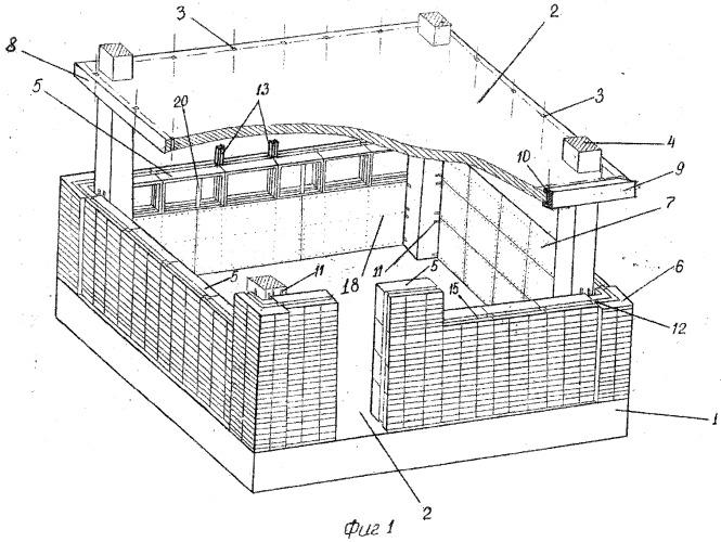Способ строительства и многослойный универсальный облегченный блок для его реализации