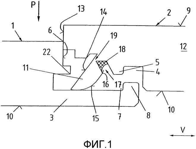 Покрытие из механически соединяемых друг с другом элементов