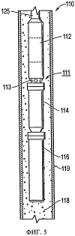 Скважинное устройство с вращающимися узлами, устойчивыми к формированию отложений (варианты)