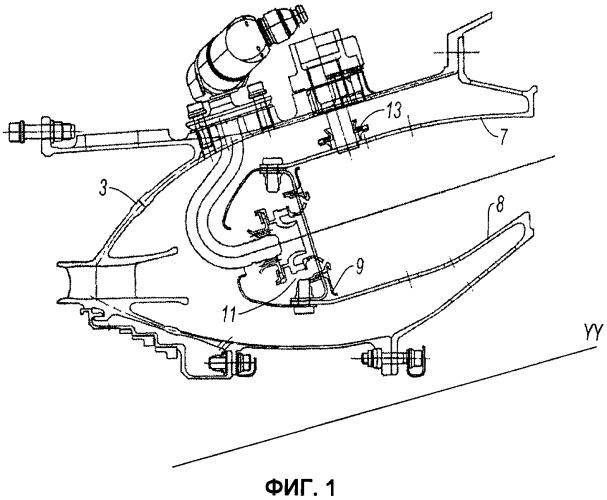 Система зажигания в камере сгорания газотурбинного двигателя, включающая свечу полупроводникового типа, камера сгорания, содержащая такую свечу, и газотурбинный двигатель