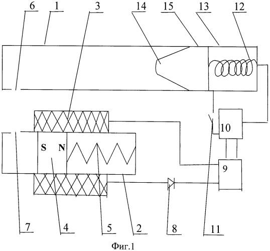Устройство для зарядки аккумуляторной батареи пневмоэлектрического оружия
