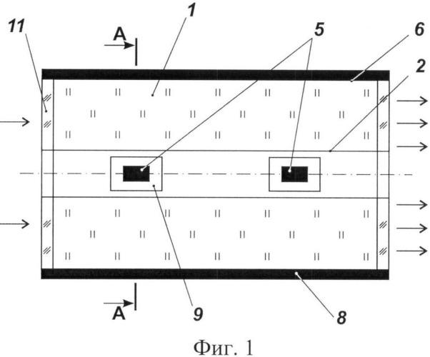 Реакторно-лазерная установка с прямой накачкой осколками деления
