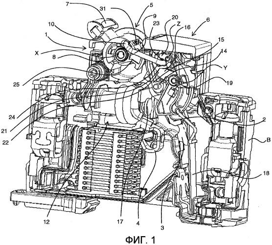 Устройство управления электрическим коммутационным устройством, содержащее устройство для индикации сваривания контактов, и электрическое коммутационное устройство, содержащее одно такое устройство