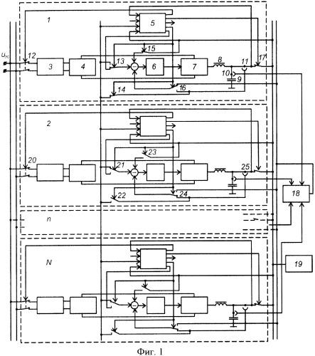 Способ управления параллельно соединенными модулями источника бесперебойного питания
