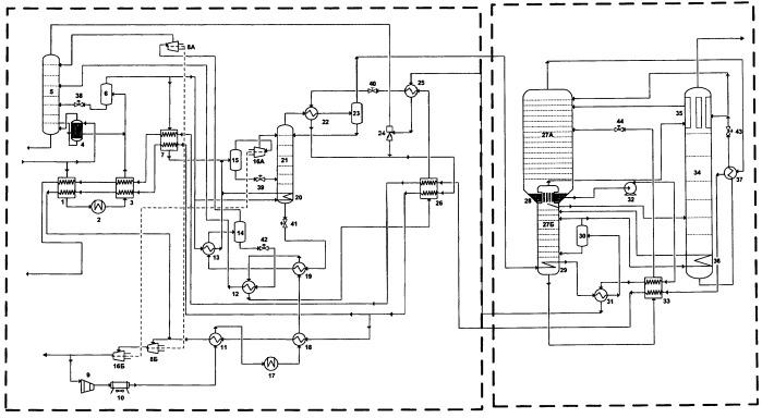 Способ переработки природного газа и устройство для его осуществления