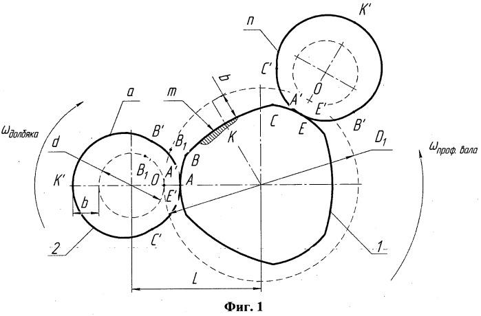 Способ обработки при восстановлении некруглого вала трех диаметров