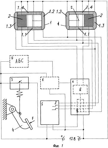 Способ индикации торможения транспортного средства и устройство для его осуществления (варианты)