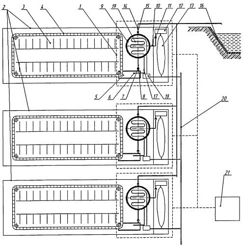 Блочно-модульная биогазовая установка