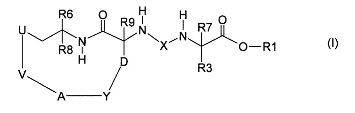Макроциклические производные мочевины и сульфамида в качестве ингибиторов tafia