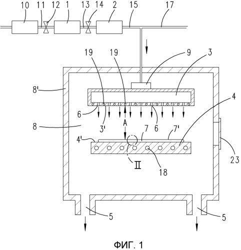 Способ осаждения тонкой полимерной пленки в газовой фазе при низком давлении