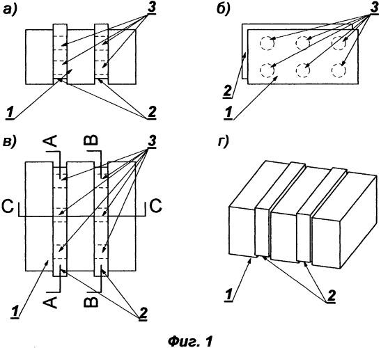 Многослойный термоблок, способ и устройство для его изготовления